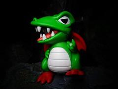 Fygar (ridureyu1) Tags: fygar digdug dragon funko pop funkopop bobblehead mysterymini toy toys actionfigure toyphotography sonycybershotsonycybershotdscw690