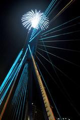 LED lines (Roving I) Tags: lighting leds bridges design danang vertical vietnam night
