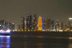 Doha Skyline (3) (hansbirger) Tags: quatar doha year2017