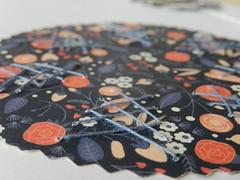 Trying something new (Landanna) Tags: embroidery embroideryonpaper broderi broderipåpapir borduren bordurenoppapier