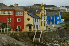 Lahinch 16 (Krasivaya Liza) Tags: lahinch county clare countyclare ireland irish countryside village town colorful history historical buildings