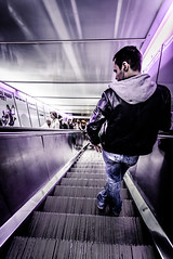 Purple underground ( vino') Tags: pictures lighting street city light portrait people urban blackandwhite woman painterly color colour art classic texture blancoynegro girl beauty silhouette night composition digital vintage movie landscape person photography lights mono photo amazing cool natural image artistic background gorgeous awesome streetphotography beautifullight style naturallight scene best retro full tricks filled adobe lane tips nightlife cinematic tone crowds imagery techniques splendour lightroom splendor urbanshots presets camerabagapp