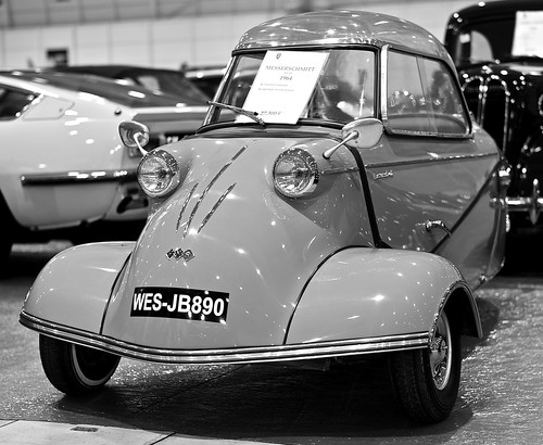 blackandwhite portugal car blackwhite lisboa lisbon cc coche carros creativecommons messerschmitt kr200 worldcars blackandwhiteonly motorclássico carrosemportugal creativephotocafe