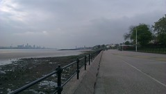 Liverpool from Vale Park promenade gates, New Brighton (17th May 13) (GreekVicar) Tags: liverpool river promenade newbrighton rivermersey