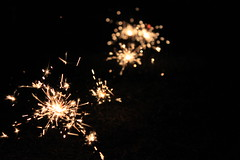 Sparkers (Lindseyvdl) Tags: summer night dark fireworks vibrant explosions thanet broadstairs