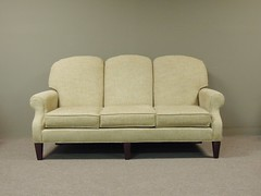 Clearanced Hallagan ... Sofa (Brian's Furniture) Tags: three back high arm furniture quality traditional leg fine style seats tight rolled lifetime tapered hallagan