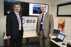 SSA NEO Cord centre opening (ESA_events) Tags: space neo awareness asteroid esa ssa situational coordination esrin neocc