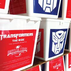 พิมพ์ถังป๊อบคอร์น | Screen Printing | Cube Bucket | Transformer Universal Studios SG