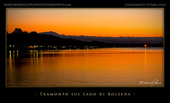 Sunset on Lake Bolsena (Marco Borzacconi) Tags: light sunset sky italy sun mountain lake mountains english nature water montagne lago italia tramonto estate arte lakes sunsets places natura cielo land tramonti portfolio sole terra acqua montagna luce external lazio eventi luoghi esterni capodimonte latium laghi stagione sinonimi firmata photocontents synonims photocontent skynaturephotocontentenglish placesenglish naturephotocontentenglish italyplacesenglish latiumplacesenglish waternaturephotocontentenglish incorniciataitaliano montagnesinonimi mountainlandphotocontentenglish mountainssynonimsenglish laghisinonimi lakenaturephotocontentsenglish lakessynonimsenglish messaggivisivinellacornicedellago2012 sunskynaturephotocontentenglish lightphotocontentnatureenglish