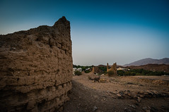 Sentinel Tower and Farm (josema) Tags: oman muscat omn matrah mascate nex6 sel1018