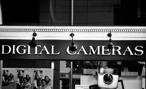 Passing By the Camera Shop