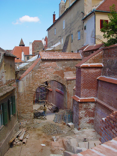 Hermannstadt / Sibiu - construction