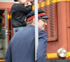 Njd Stins (brandsvig) Tags: station smiling june train skne sweden content steam locomotive sverige ef sterlen lokomotiv tg leende canon500d brsarp njd 18135 2013 nglok stins sknskajrnvgar
