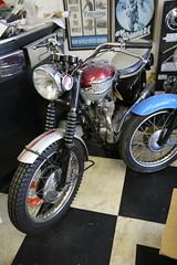 Triumph (kenjonbro) Tags: uk london classic bike shop museum ace lewisham motorbike workshop lee triumph motorcycle tr6 catford grovepark hithergreen se13 motorcycleshop brownhillroad kenjonbro canoneos5dmkiii canonef2470mm128liiusm aceclassicslondon