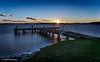 Squids Ink (The0dora Photography) Tags: longexposure sunset lake newcastle pier jetty lakemacquarie tamron2470 squidsink nd500 theodoraphotography canon5d3
