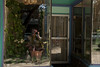 self portrait in front of Vientiane Cafe (karenchristine552) Tags: city urban usa selfportrait philadelphia nature landscape nikon westphiladelphia pennsylvania pa philly westphilly urbanlandscape universitycity nikond80 urbanstreetscape