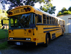 School Bus (kevin42135) Tags: california county blue school lake bus bird ford all thomas american a3 re lucerne conventional elementary a3re