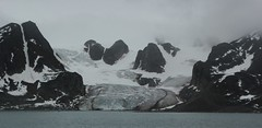 Raudfjorden Glacier (Derbyshire Harrier) Tags: summer glacier svalbard arctic cropped spitsbergen ortelius lowcloud naturetrek raudfjorden 2013 higharctic
