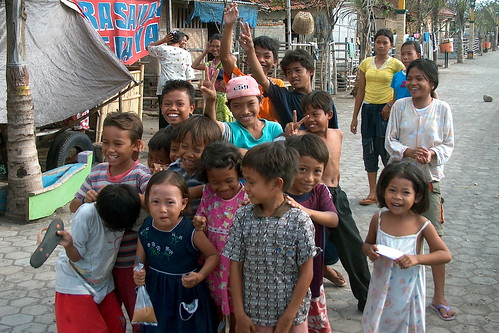 Indonesia - Lombok - Group of Children