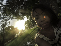 J.B (Eye-View Photography) Tags: trees sunset people color green nature grass friend jamaica eyeview devonhouse flickraward