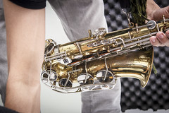 (Mrcio Pote) Tags: show music sc brasil bar radio pessoas artist guitar florianpolis grupo trombone sax msica palco forr documental sertanejo