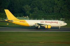 AIR HONGKONG A300 B-LDB (Adrian.kissane) Tags: singapore cargo dhl a300 856 airhongkong bldb