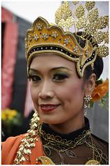 Malaysia Culture Show (sharkskin2) Tags: flower sexy london beauty festival costume actors model mask dancing dancer southbank sarawak malaysia sabah pahang minister fandance bamboodance atrist bornio malaysiancultureweek2013