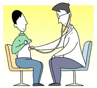 Medical care Illustration - Examination