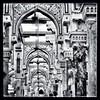 Interior façade (kijal) Tags: bw interior perspective deco saudiarabia mecca kijal makkah iphone kaabah 2013 iphone5 masjidilharam 1434h uploaded:by=flickrmobile flickriosapp:filter=nofilter almasjidalharamالمسجدالحرام
