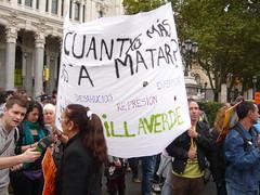 PREGUNTA AL GOBIERNO ¿CUANTAS MÁS VAS A MATAR? 19O#269 (Jül2001) Tags: protest protesta revolución manifestaciones protestas mareas spanishrevolution 15mayo movimientossociales luchasocial indignados democraciarealya acampadasol movimiento15m