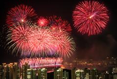 Busan Fireworks Festival 2013 - Busan, South Korea (Scott Rotzoll) Tags: festival asia fireworks korea busan pusan gwanganli gwanganbridge