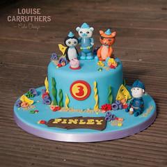 Birthday - Octonauts (Crumbs & Corkscrews) Tags: birthday blue red sea yellow cake coral design cupcakes underwater cotswolds gloucestershire celebration sponge cirencester cbeebies octonauts miketheknight cirencestercupcakes louisecarruthers