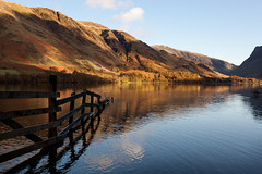 Buttermere Reflections in late afternoon light #2 (GOLDENORFE) Tags: lakedistrict butermere