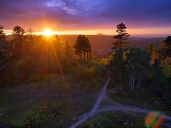 Last Light (Bill Fultz) Tags: sunset southdakota overlook deadwood blackhillsnationalforest deadwoodsouthdakota mtroosevelt friendshiptower