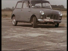 1959 MINI DRIVING TESTS - PRE LAUNCH 096FC (Midlands Vehicle Photographer.) Tags: driving mini pre plates launch trade tests 1959 096fc