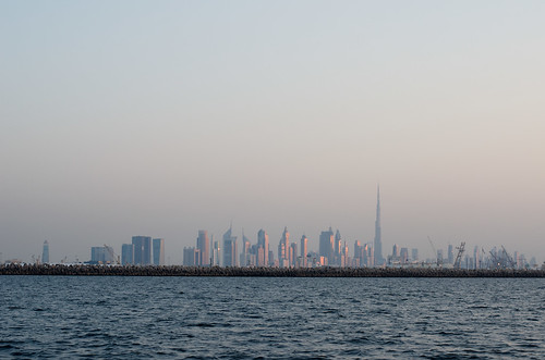 Dubai Skyline - sunset ©  Still ePsiLoN