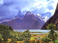 Milford Sound (Northern Gateway Portrait Photography) Tags: mountains nz sound milford fiord