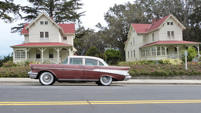 sanfrancisco california classic chevrolet classiccar military 1957 housing parked presidio 94129