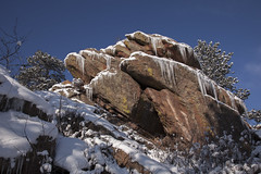 icicles (Jeff Mitton) Tags: sandstone colorado boulder frontrange icicles flagstaffmountain wondersofnature earthnaturelife