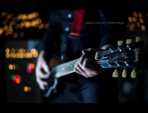 portrait music acdc metal self 50mm lights nikon bokeh guitar sb600 dustin nikkor gibson lespaul rockandroll d800 sb700 gaffke dustingaffke