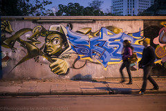 moganshan wall 6 (matteroffact) Tags: china road street city light art colors wall architecture night buildings grit graffiti nikon asia paint colours pieces shanghai gritty spray lu d800 moganshan m50 puxi d800e