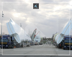 Tufcoat custom shrink wrap covers for Airbus A380 wing9