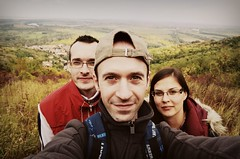2013/09/29 Tokaj 3 (tipics (tibi's pics)) Tags: autumn friends people selfportrait fall nature countryside town hiking hill