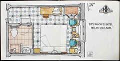 HuyHoang (LuisGoF) Tags: sketch drawing sketchbook vietnam hoian accommodation croquis huyhoang {vision}:{outdoor}=0836 {vision}:{text}=0805