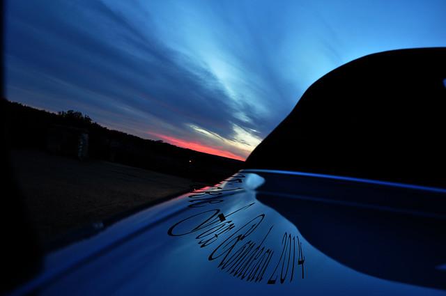 blue sunset car texas bmw 2014