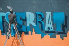 Mural - Día de los Datos Abiertos (LABgcba) Tags: de graffiti los mural arte buenos aires ciudad dia abierto urbano datos gobierno abiertos opendataday odd14