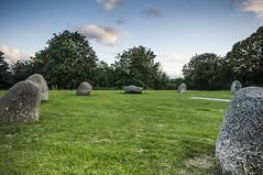 Stone circles, Hilly Fields Park, London, England. (blackwoodse6) Tags: park trees sky clouds evening standingstones nikon lewisham southlondon stonecircles brockley southeastlondon nikond2x londonparks se13 se4 singlerawhdr hdreffect londonboroughoflewisham boroughoflewisham lightroom5