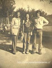 Con Gabriela Pizarro y Dióscoro Rojas.