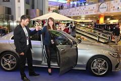 11-Citycar Sur presenta los nuevos Mercedes-Benz Clase C y GLA con la espectacular actuación de Nancys Rubias