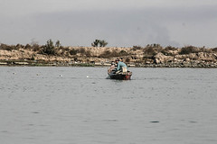 Fishermen, Shatt Al-Arab Waterway, Iraq